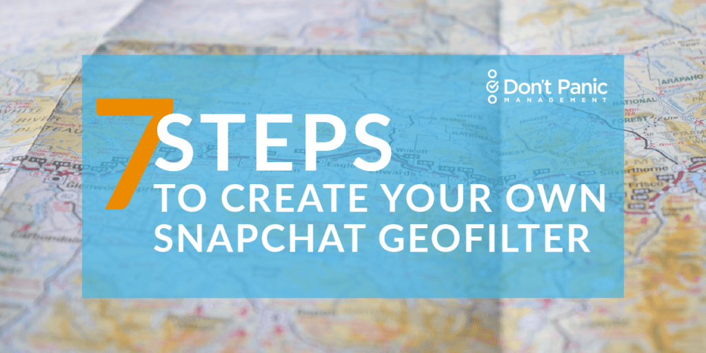 The Speedy Guide to Creating A Snapchat Geofilter for Your Upcoming Event
