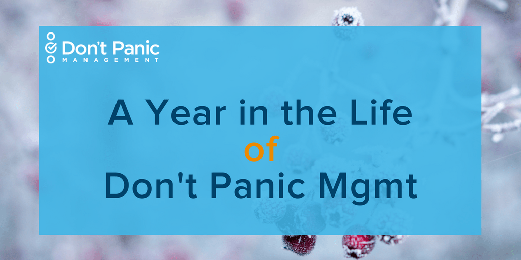 A Year in the Life of Don't Panic Mgmt in 2018 (Featured image)