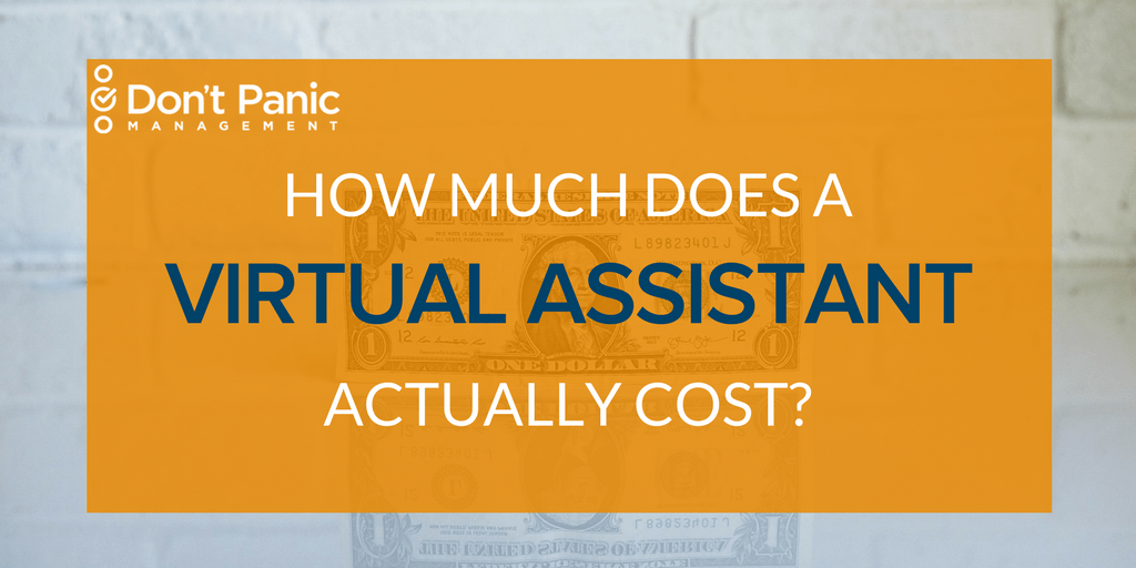 Can You Afford a VA? How Much a Virtual Assistant Costs.   Don't Panic Mgmt