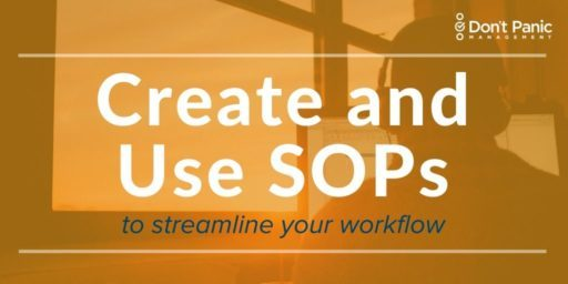 Howt o Create and Use SOPs