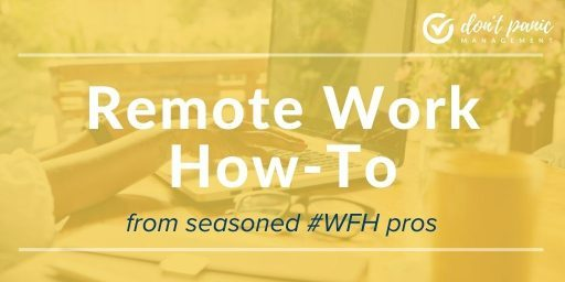 Remote work how-to