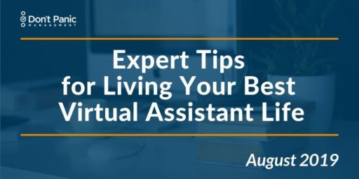 Tools Tips and Treats for Living the VA Life, August 2019