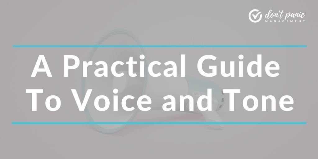 a practical guide to voice and tone
